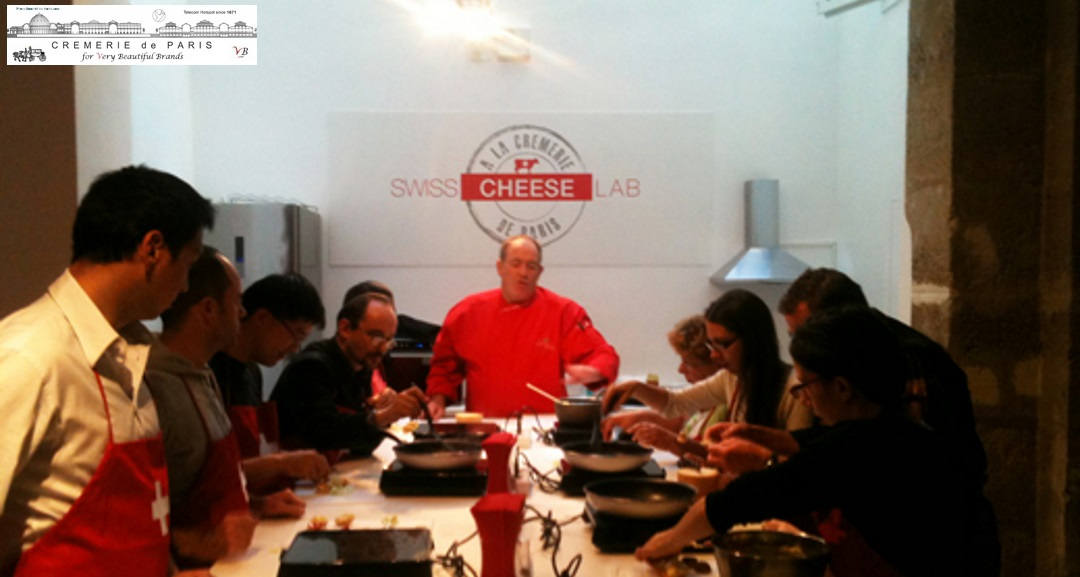 Pop Up Store Swiss Cheese Lab at the Cremerie de Paris