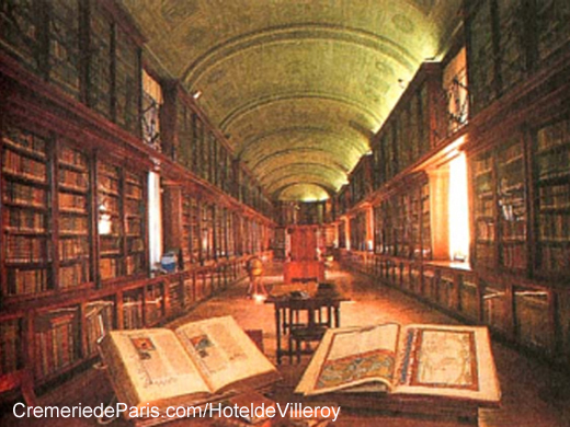 The Aubespine Villeroy Library in Conflans