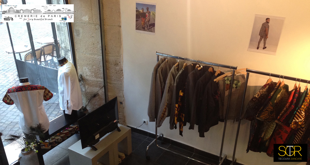 Tiecoura Sangare Pop Up Store