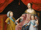 Regent Anne d´Autriche and her two sons