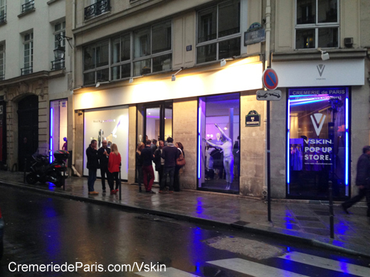 Vskin Pop Up store à la Cremerie de Paris