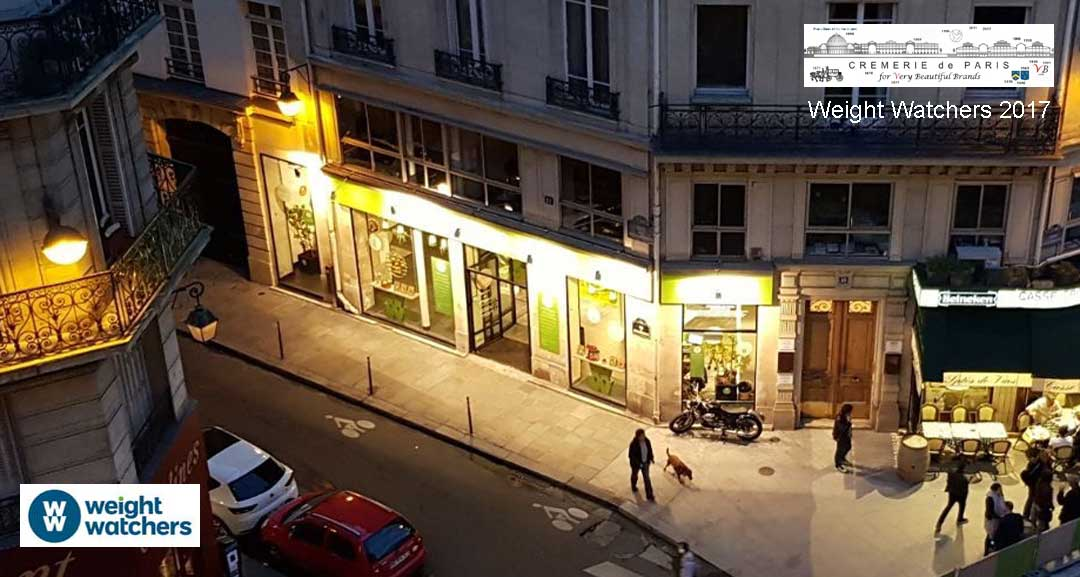 Cremerie de Paris N°1 Pop Up Store Weight Watchers