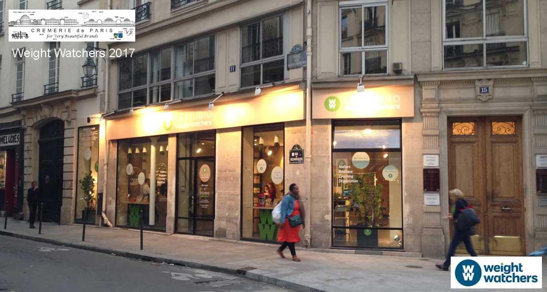 Pop Up Store Weight Watchers at the Cremerie de Paris