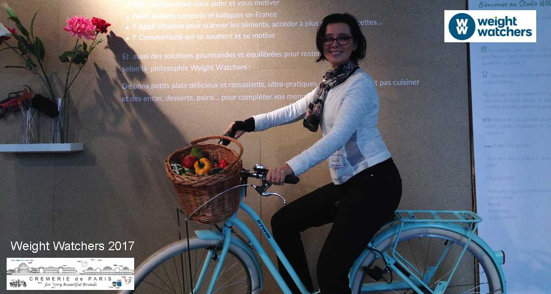 Weight Watchers Coach avec Velo