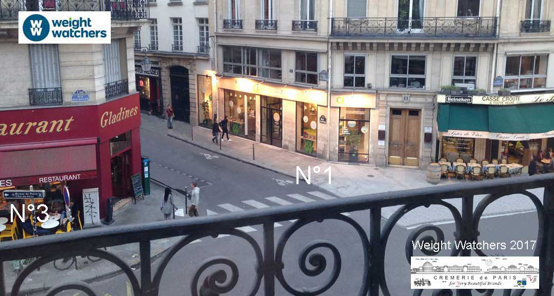 Weight Watchers Pop Up Store à la Cremerie de Paris N°1